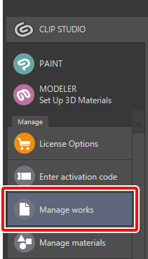 clip studio paint cant install material