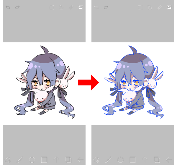 70 Filter Change Drawing Color How To Use Ibispaint